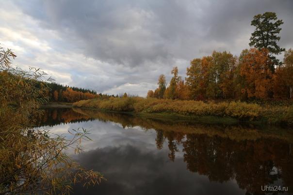 Река Айюва Природа Ухты и Коми Ухта