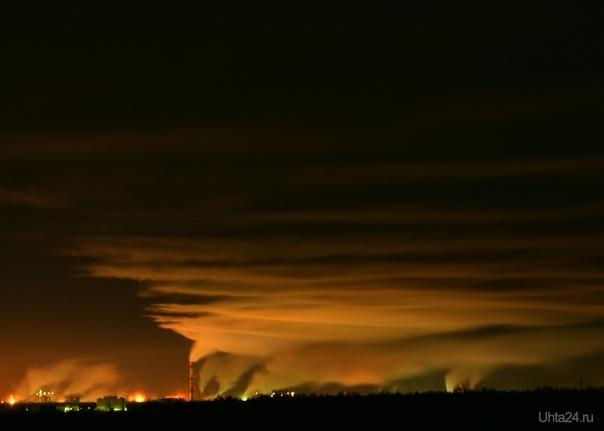 Ухта - там где рождаются облака Природа Ухты и Коми Ухта