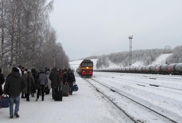 поезд Ухта