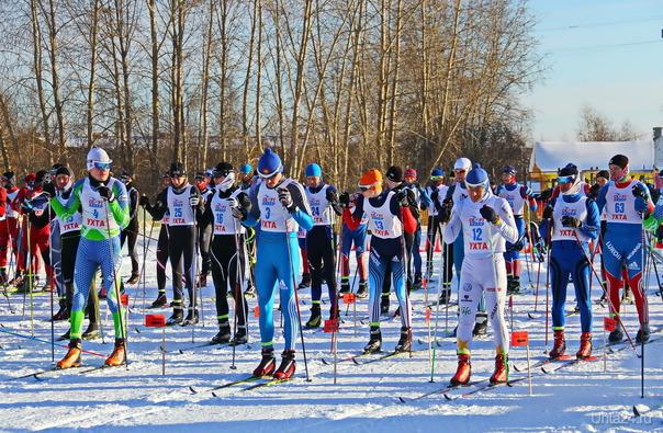 Республиканские соревнования по лыжным гонкам.За 3 минуты до старта. Ухта.  Ухта