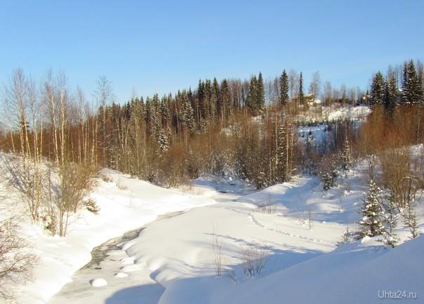 За неделю до календарной весны на речке Лунь-Вож (архивный снимок) Природа Ухты и Коми Ухта