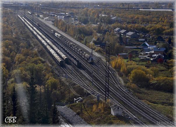 Железнодорожная станция Ухта. Заведения Ухты Ухта