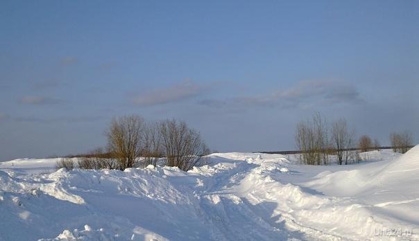 Март. Ещё в полях белеет снег...  Ухта