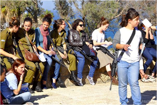 Девушки армии Израиля  Ухта