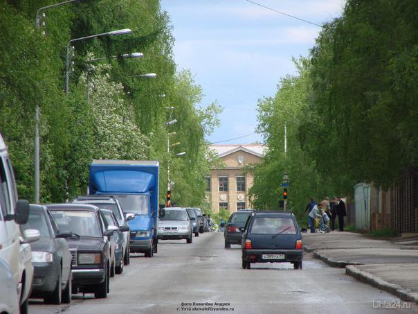 Улица Чибьюская, 2009г.  Ухта
