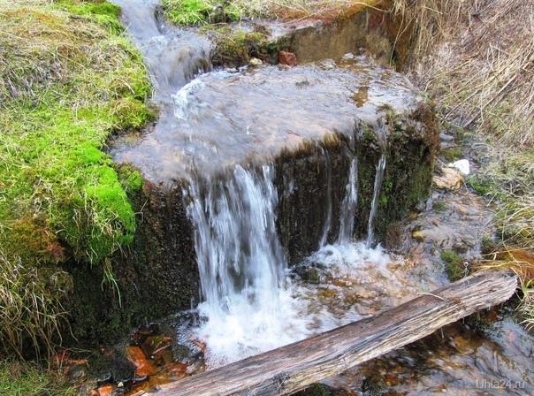 водопад виктория,120 метров Природа Ухты и Коми Ухта