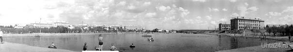 собранная панорама из фотографий пользователя Эргер (http://uhta24.ru/foto/list.php?user=2602):  Ухта