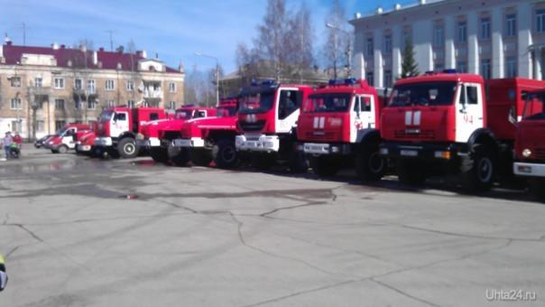 День пожарной охраны  Ухта