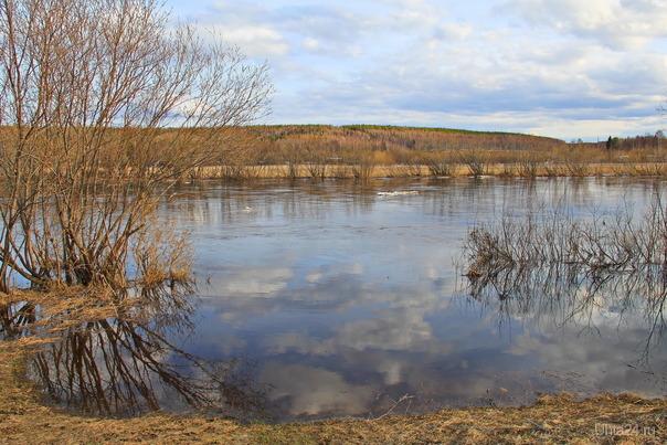 Река Ухта. Апрель Природа Ухты и Коми Ухта