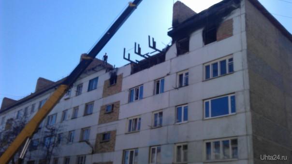 восстановление дома Севастопольская 13а  Ухта