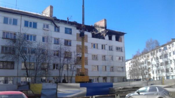 Восстановление дома по Севастопольской 13а  Ухта