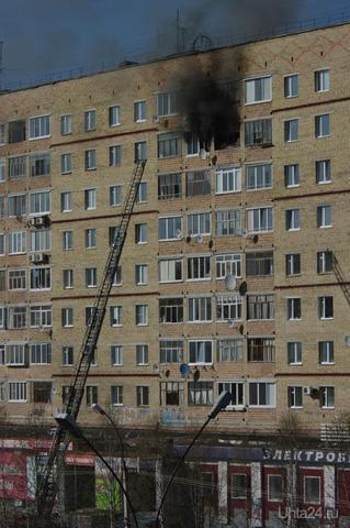 Пожар на Ленина, 32 Происшествия Ухта