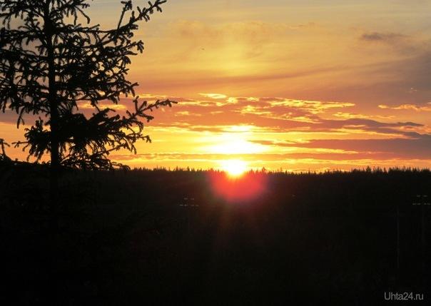 а у земфиры есть песенка прикольная-рассветы закаты Природа Ухты и Коми Ухта