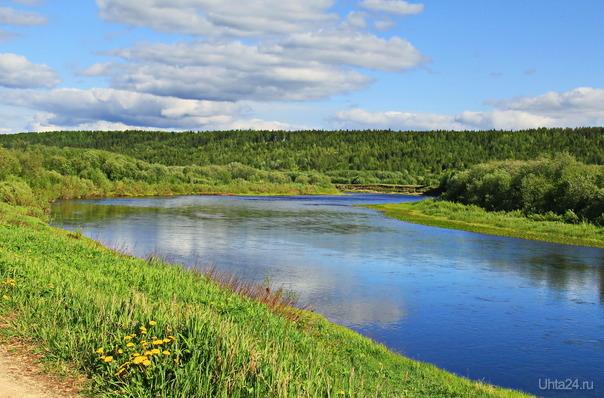 Река Ухта. Природа Ухты и Коми Ухта