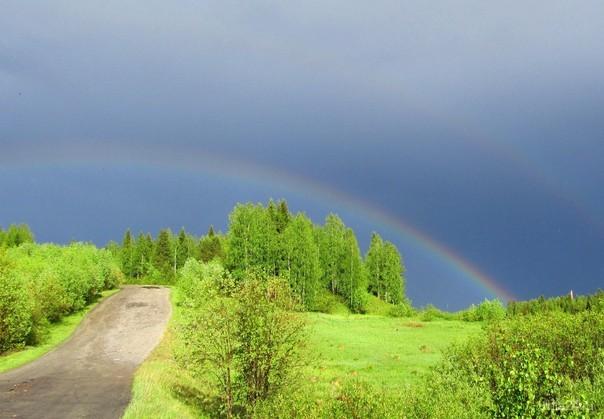 После дождя  Ухта