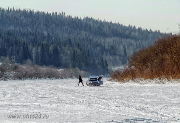 Ледовый трек 2012  Шудаяг- Ухта На дороге Ухта