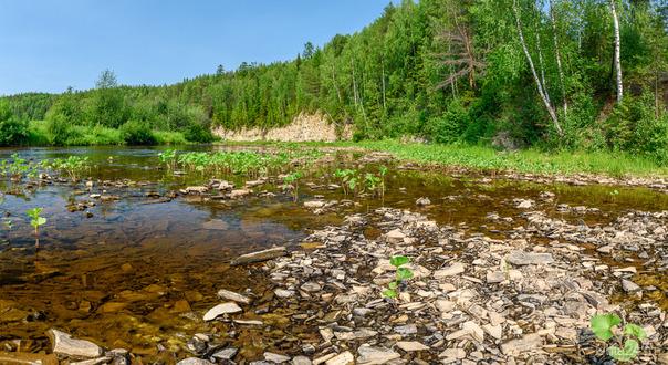 Река Чуть  Ухта