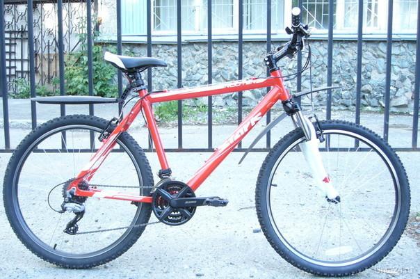 Украденный велосипед. Только без переднего крыла.  Ухта