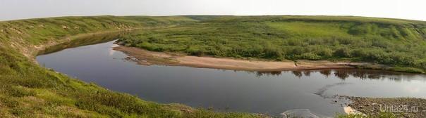Река Уреръяха.   Ухта