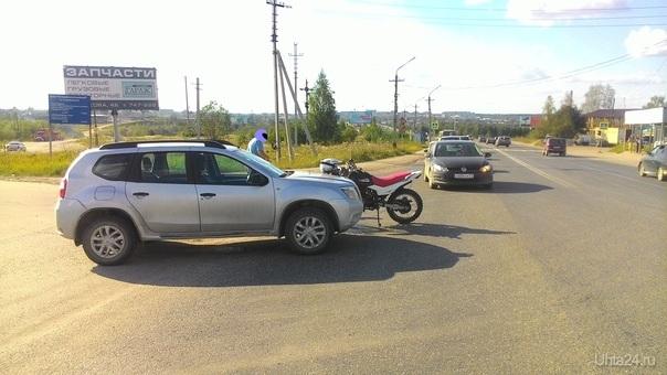 ДТП на Сосногорском шоссе  Ухта