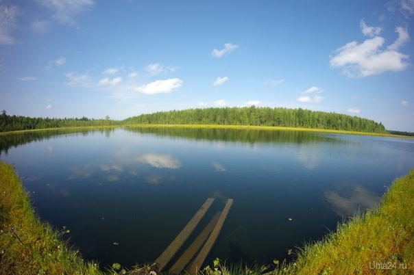 озеро Вад Природа Ухты и Коми Ухта