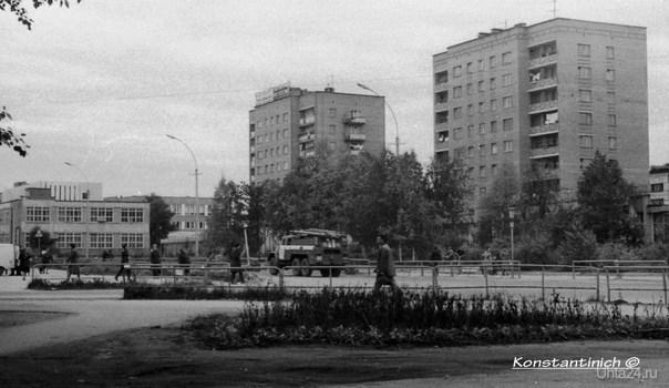 ул.Октябрьская 1983г.  Ухта