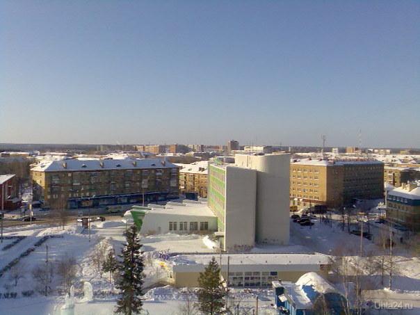 Зимний день Улицы города Ухта