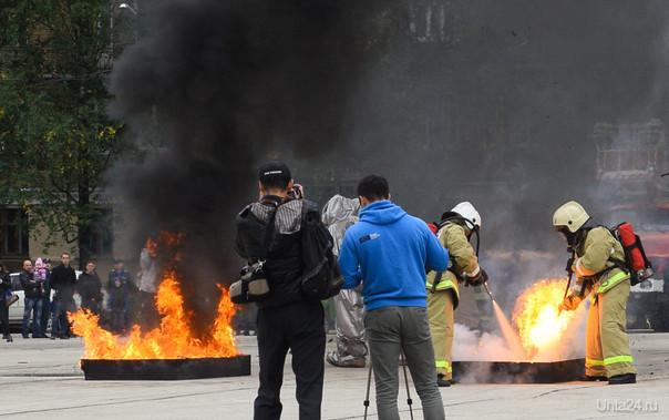 Показательные выступления пожарных Мероприятия Ухта