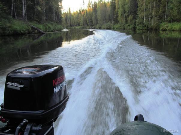 на реке ни как на дороге,камер  нету,газ в пол Природа Ухты и Коми Ухта