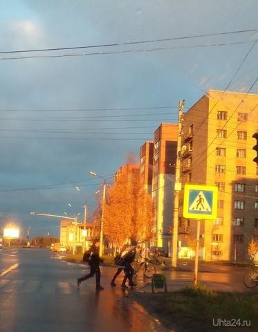 Пешеходный переход Ухта