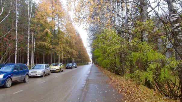 Осень в старом городе.  Ухта
