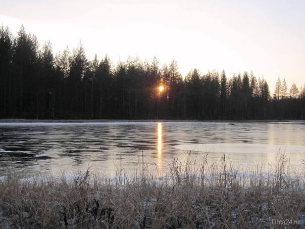 ледяная тишина там была Природа Ухты и Коми Ухта