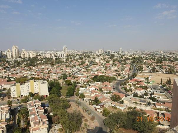 Израиль, Беер Шева с высоты птичьего полета Мир глазами ухтинцев Ухта