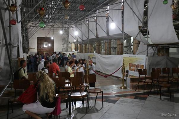 Палестина, Вифлеем, Храм Рождества Христова (идет реконструкция) октябрь 2016  Ухта