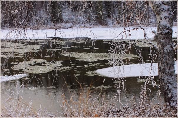 Ледостав на реке (Шудаяг) Природа Ухты и Коми Ухта