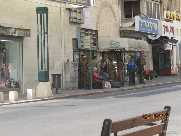 Солдаты израильской армии  Ухта