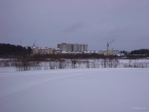 Зимой  Ухта