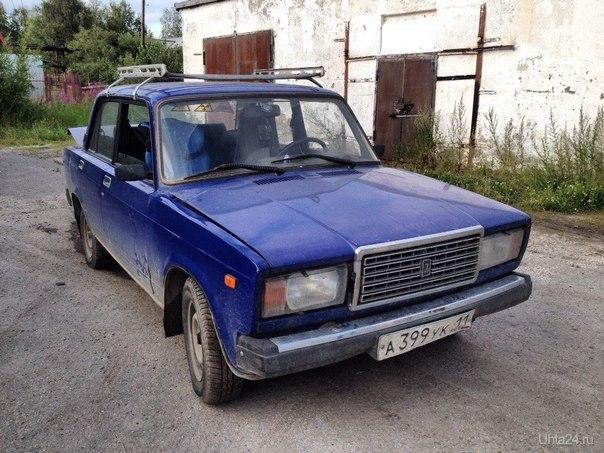ваз 2107 Мой автомобиль Ухта