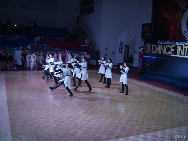 участники танцевального фестиваля  Ухта
