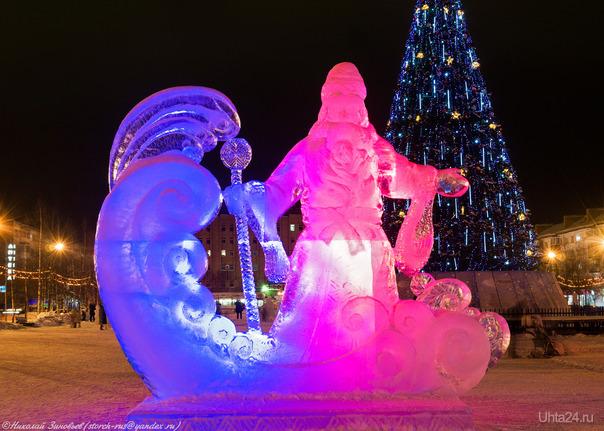 Дед Мороз...  Ухта