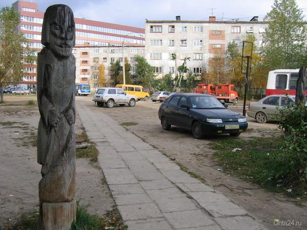 Городок - 2, остатки  Ухта