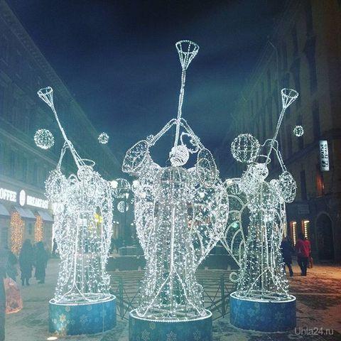 Рождество в СПб  Ухта