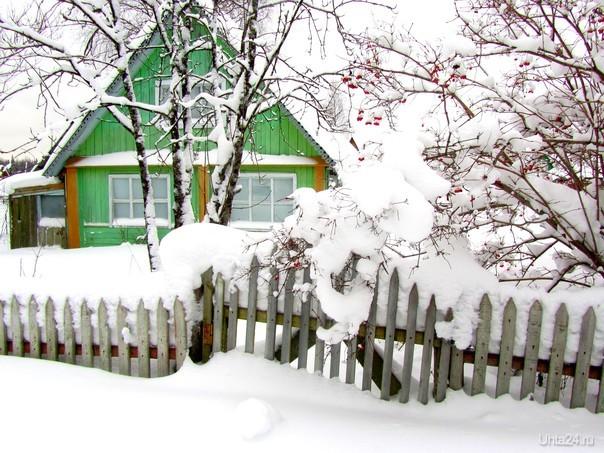 В зимнем сне  Ухта