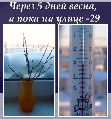 Февраль, мороз.  Ухта