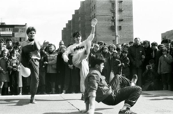 1988г. Брейкеры зажигают История Ухта