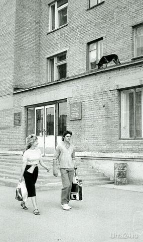 Один день в Ухте... 80-х Улицы города Ухта