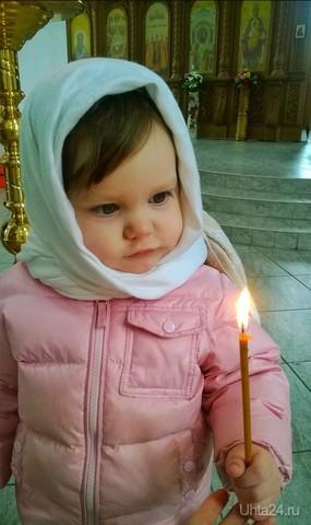 Пасха, ждем освящение куличиков)))) Один день в Ухте Ухта