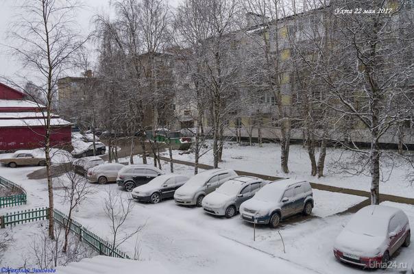 ❄Ураа, зима пришла, хотя, нет-нет, что это я, это же не 1 декабря, а 22 мая 😊 Или, продолжаем фотодневник шальной погоды-2017 :)  Ухта