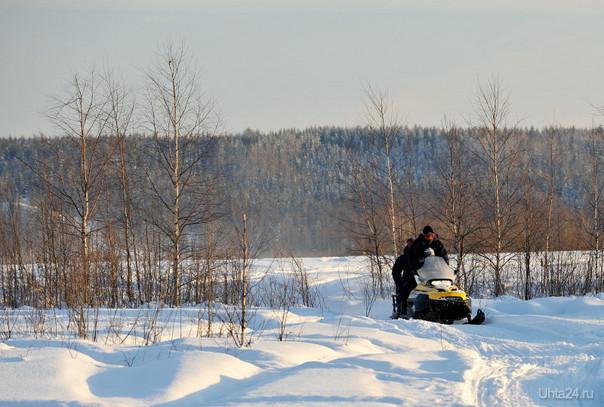 последний день зимы Природа Ухты и Коми Ухта