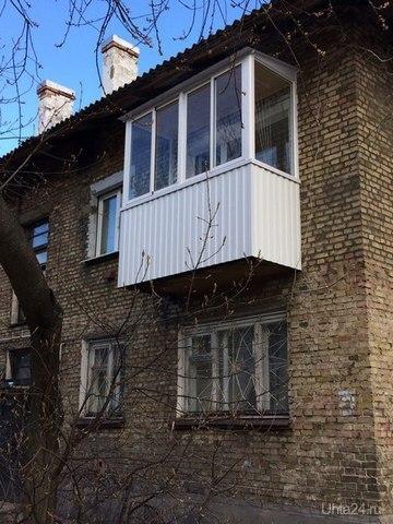 """балкон от """"Витраж"""" ВИТРАЖ Ухта"""
